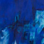Crash Blue Square Breeze 2008 60 x 48 inches acrylic on canvas SOLD